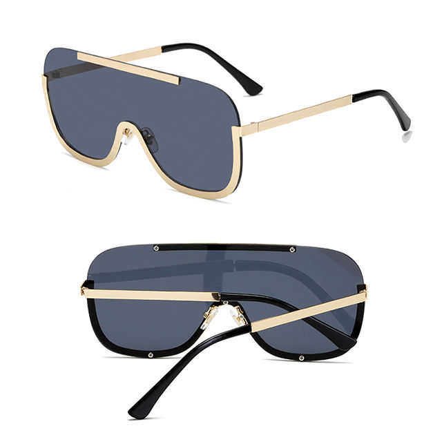 Hot Deal [ Sunglasses Eyewear ] Sunglasses Trendy DLL01 DL Glasses 2020 New Fashion Trendy Cool Sunglasses Vintage Metal Frame 1 Piece Sun Glasses For Ladies Large Lens Eyewear