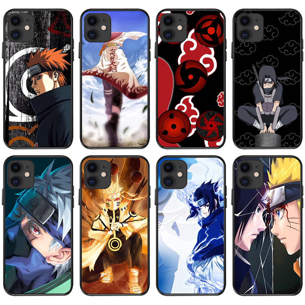 27 Design Soft TPU Back Cover Mobile Phone Cases For fans of Anime Naruto as gift