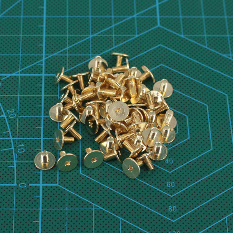 Equipment accessories ultrathin carbon steel screw Dulles arch mouth gold package special ultra-thin screw