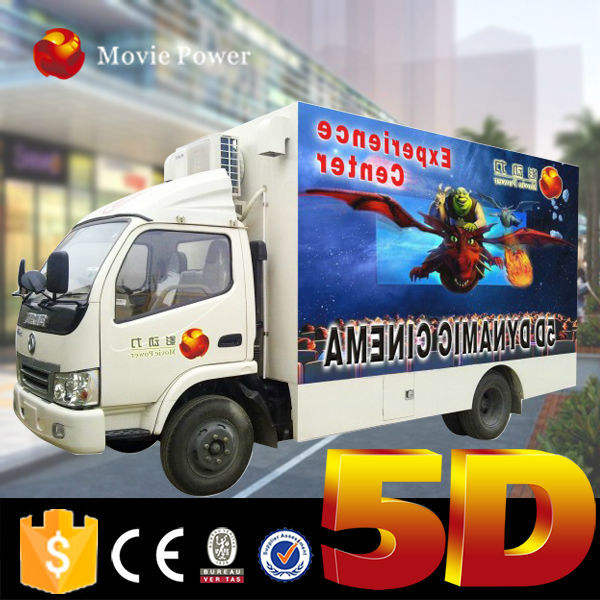 Amusement Park Multi Seat Earn Money Outdoor Truck Mobile DinosaurDome Cinema Motion Chair 3D 4D 5D 6D 7D 8D 9D 12D XD cinema
