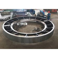 big diameter gear ring for Rotary Kilns and Ball Mills