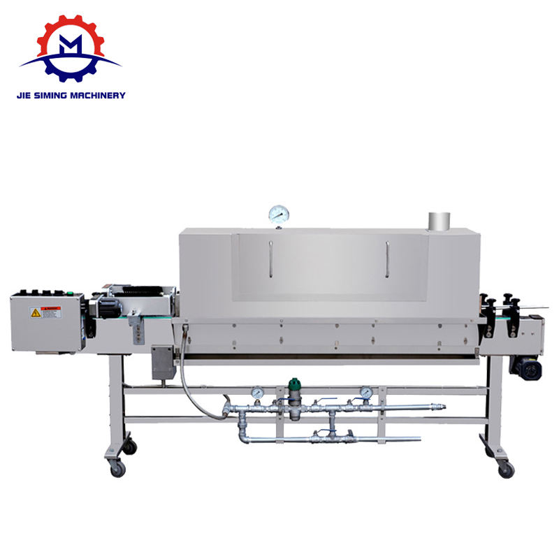Hot sale Efficient Pet Bottle Label Steam Shrink Tunnel / Shrinkage Machine For Label / Shrink Sleeve Label Machine