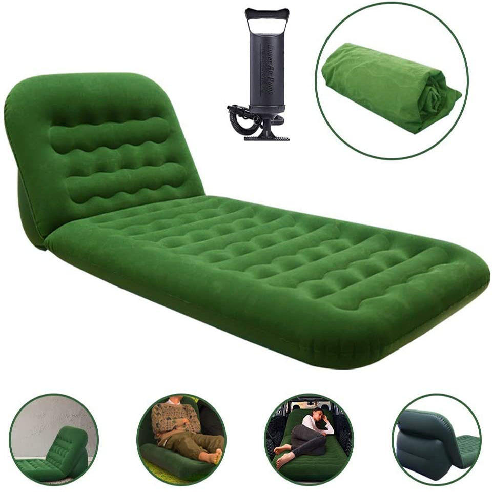 Home travel Cheap furniture inflatable air sofa,5 in 1 sofa bed inflatable air bed sofa inflatable 1-4 people can sit Foldable