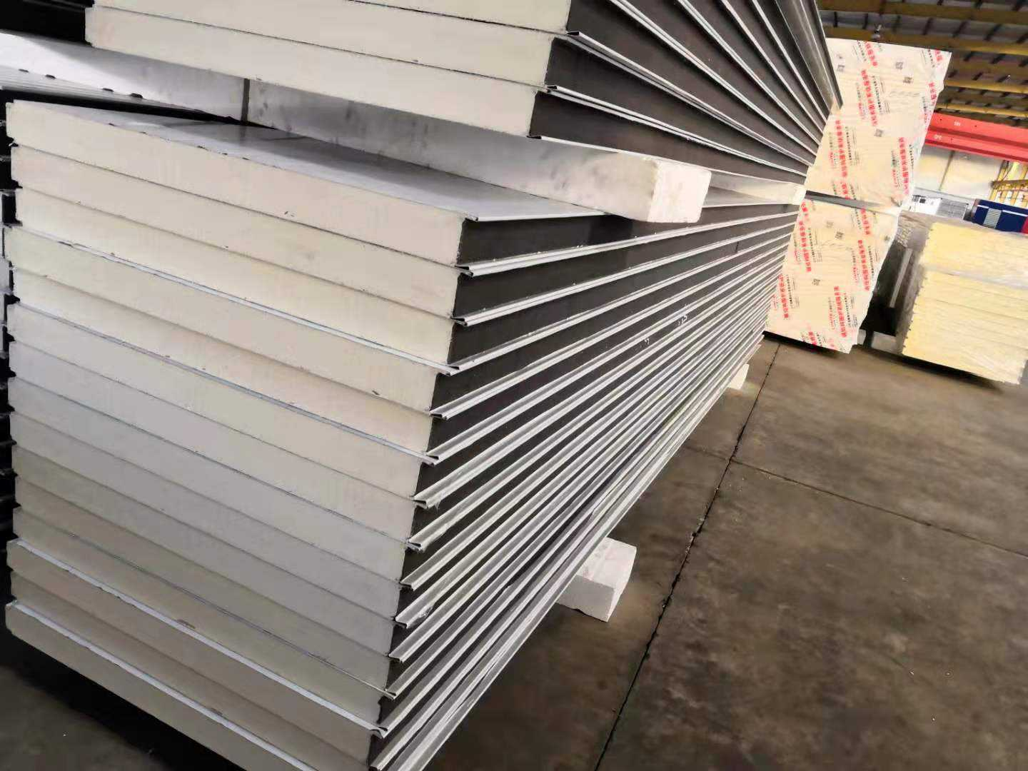camlock polyurethane cold room insulation sandwich panel