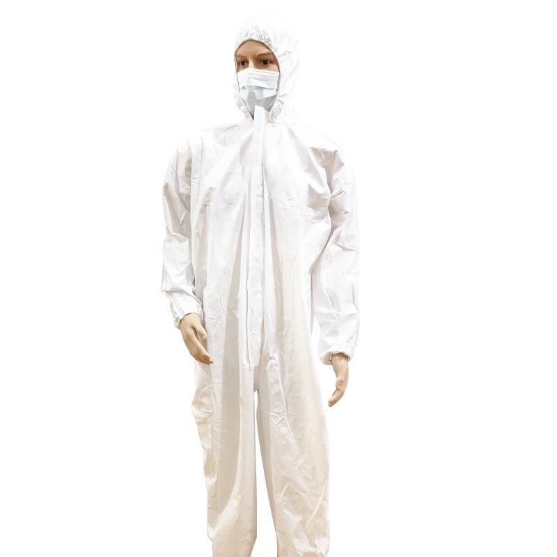 cheap personal disposable non woven isolation coverall