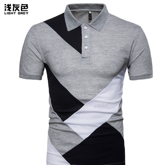 Fancy Colorful Polo Designs Mens Short Sleeve t shirt polo Color Combination Polo Shirt
