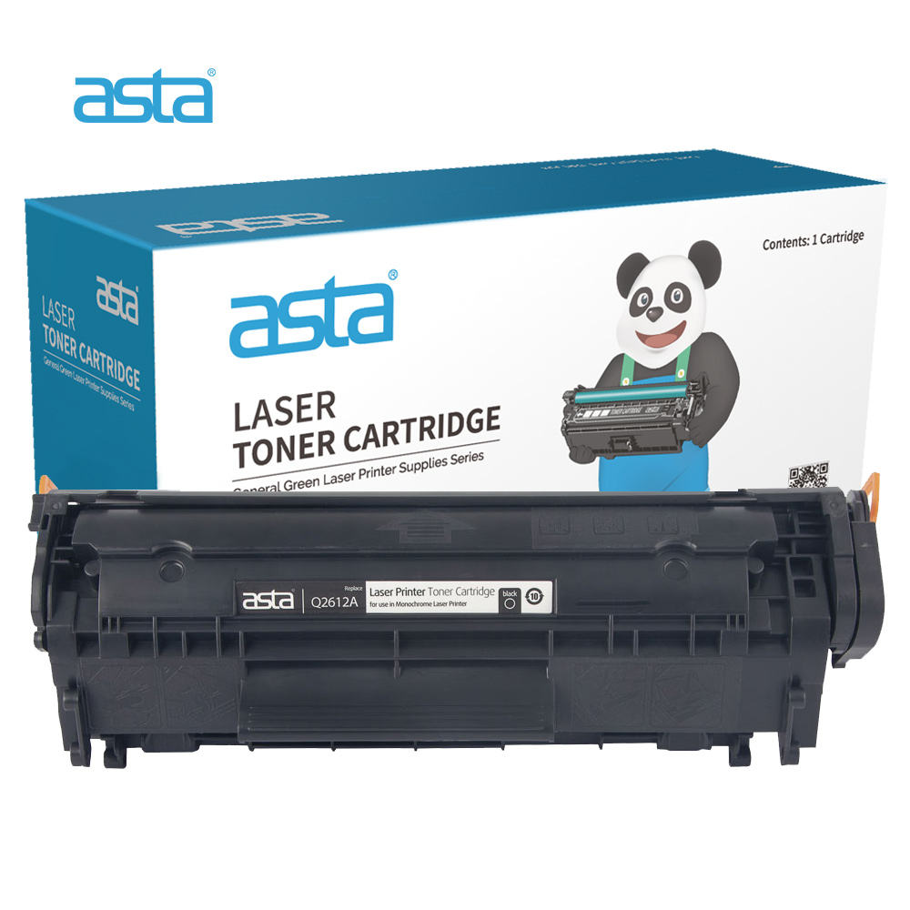 ASTA Factory Wholesale Compatible Laser Toner For HP 05A 12A 17A 26A 35A 36A 78A 80A 83A 85A 88A Toner Cartridge