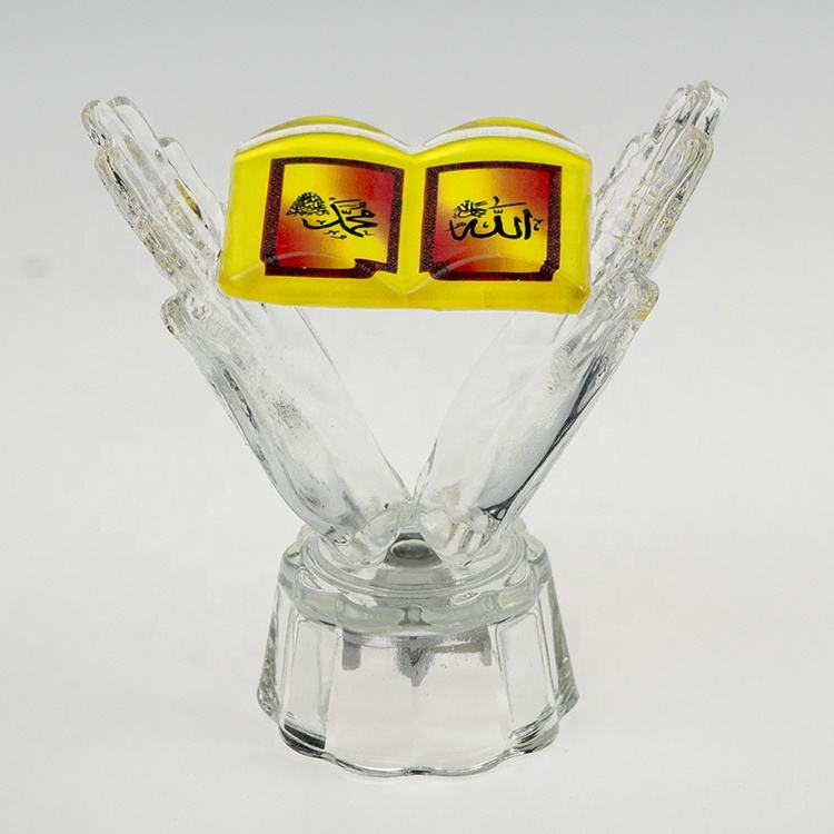 Muslim crystal crafts islamic decor Crystal Kaaba in Mecca Haji Arab handicrafts souvenirs