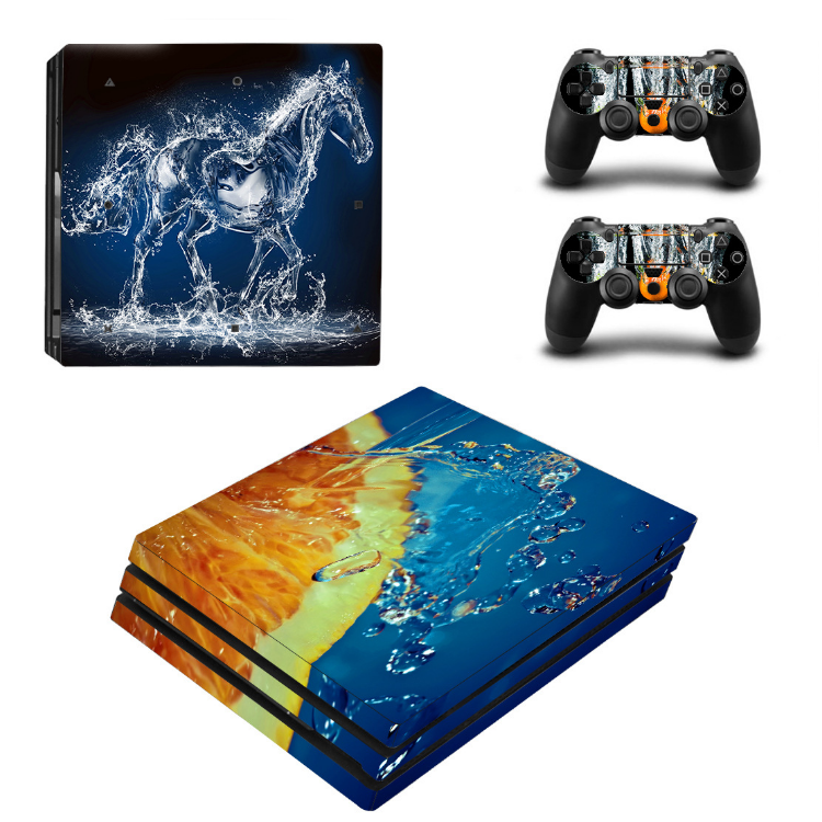 Skin Sticker Cover Voor Play Station 4 Voor PS4 Pro En 2 Controller <span class=keywords><strong>Vinyl</strong></span> Skins Sticker