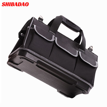 2019 High Quality Multifunctional toolkit waterproof portable shoulder bag electrician hardware too kitl bag