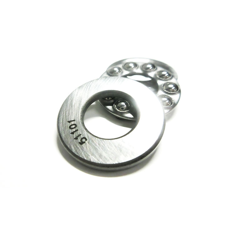 Cheap small planar thrust bearing with high rotation accuracy and appearance accuracy