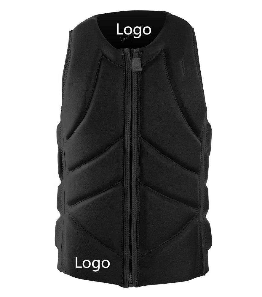 Customize Neoprene Water Sports Approved Ce Rescue Buoyancy Floating Vest Adult Life Jacket