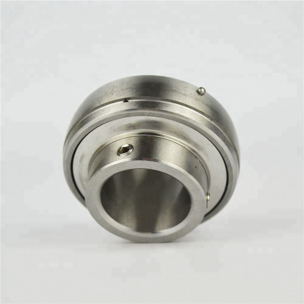 China supplier Stainless steel Insert Ball bearing series SUC203 SUC204 SUC205 SUC206