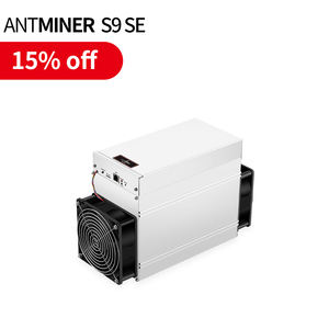 Fast shipping in stock Mining SHA-256 Algorithm 1280W Power 16 Th/s 17th Bitmain asic Antminer S9 SE s9se
