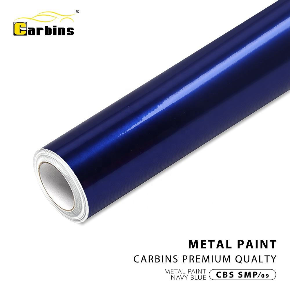 Carbins Navy Blue Metallic Paint Protection Film Automobile Sticker Roll Vinyl Sticker Roll Car Body Stickers