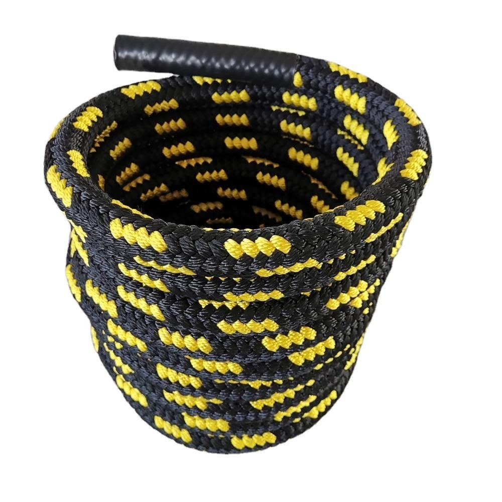 Factory custom new design braided battle ropes training