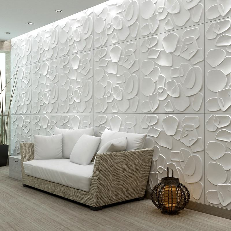 Wholesale decorative plastic vinyl 3d wall panels pvc wallpapers wall coating paper 3d