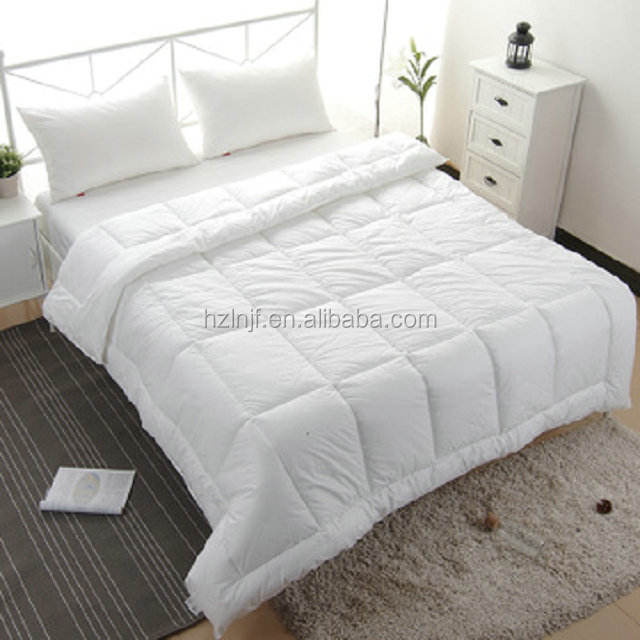 Soft new custom polyester hotel white cheap high quality comforter