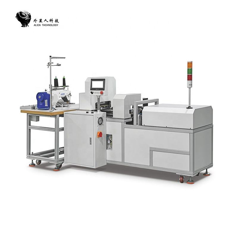 High Quality Automatic Rib Knitted Cuff Ribbing Machine Modern Industrial Sewing Production