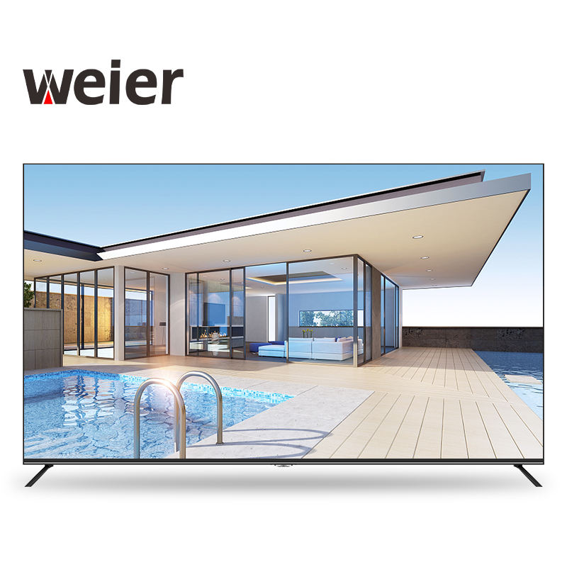 weier tv suppliers 4k led/lcd television 65 inches smart TV