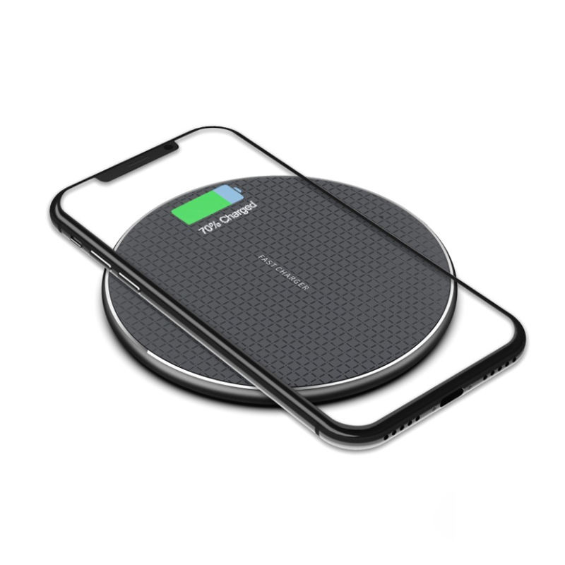 7.5W Qi Wireless Charging Desktop Pad for Apple iPhone 11 Pro 8 Plus XR XS Max Samsung S7 S8 Note5 Nokia LG 10W Fast Charger