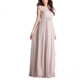 Newest Silk Eyelash Lace Maternity Gown Pregnant Sexy Lace Evening Maxi Dress
