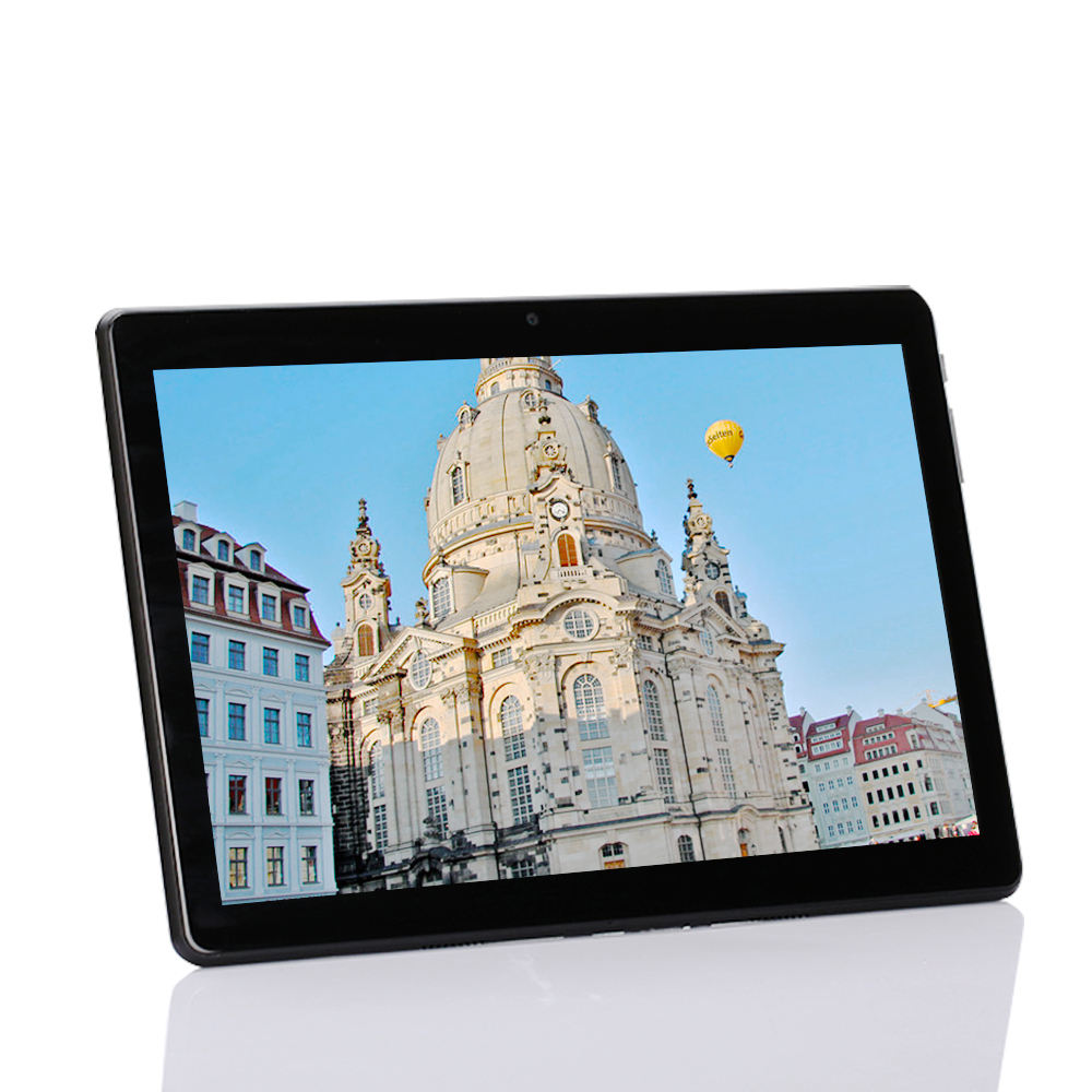 Customized Logo 10.1 Inch 3G LTE Tablet PC Quad Core 1GB RAM 16GB ROM IPS GPS Glass 10 inch tablet Android