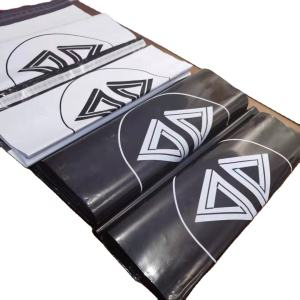 wholesale custom plastic packaging postage coruier poly mailers mailing bags logo for clothes