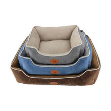 China supplier sales simple rectangle autumn cozy luxury pet supplies bed