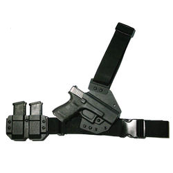 Police Army Chest Holster Kydex fit for Glock 19 23