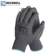 PVC Dotted Firm Grip Breathable Labor Protection Work Out Gloves