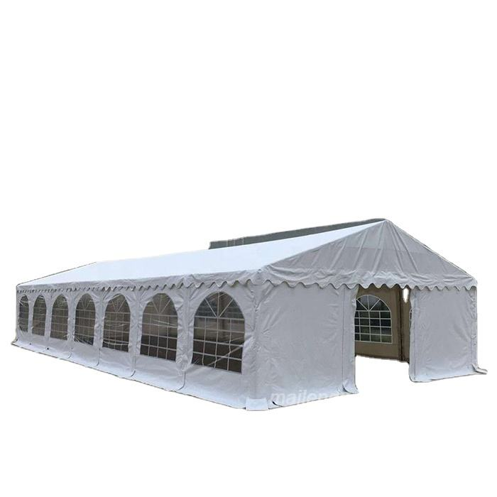 China manufacturer with 8x12m Hot sale cheap wedding PVC party tent large white all kinds of tents