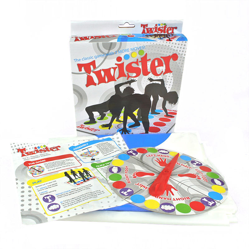Twister game board classic parent-child educational playing toy outdoor indoor multiplayer family party funny game for people