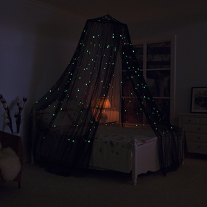 Best Seller Glow In The Dark Cama Cama de Dossel Mosquito Bebê Net