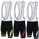 Custom Cycling Bib Shorts Men Outdoor Wear Cycle Mountain Bike Bicycle 3D GEL Padded Riding Bib Shorts Black Green Red Blue