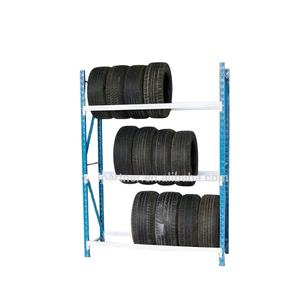 Magazijn Opslag Licht Duty Plank Pallet Rack Rekken Tire Display Rack