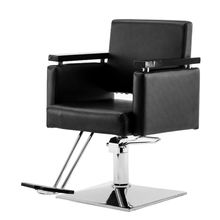 Wholesale Price Reclining Heavy Duty Vintage Equipment Chair Barber, Black Salon Furniture Hydraulic Barber Chair For Sale Cheap