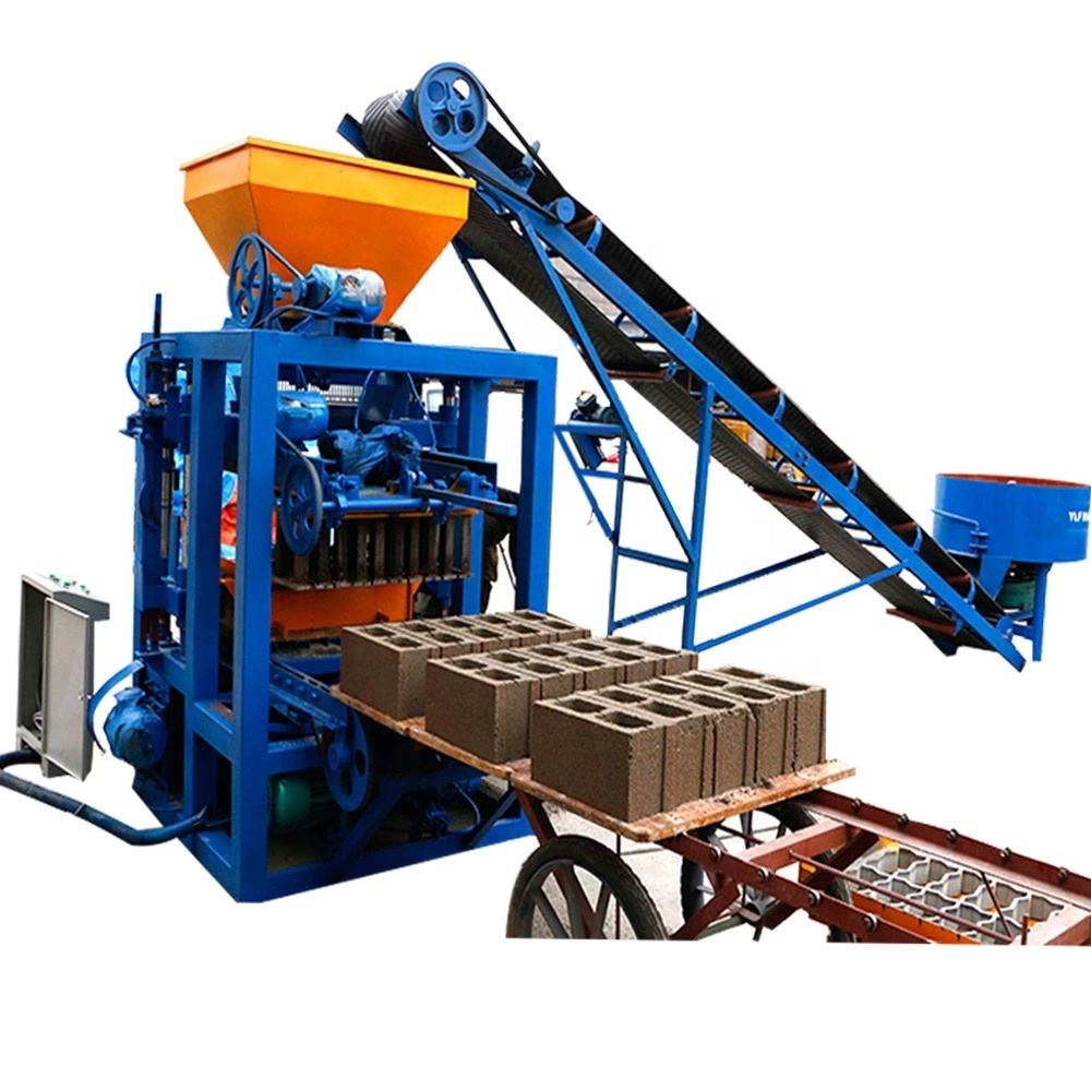qt4-24 mini brick plant small brick making machine brick factory for sale