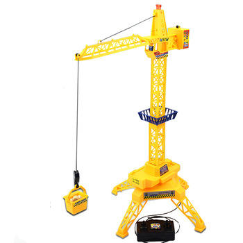 Customizable Simulation RC construction Remote control toys tower crane toy 360 Degree rotation