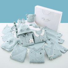0-3 Months Newborn Baby Clothes 100% Cotton Infant Clothes Set Unisex Infant Boys Girls Clothing Kit Stock wholesale