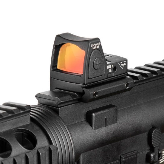Guns And Weapons Army Rifle Glock Pistol RMR 1X22 2MOA Holoraphic Sight Red Dot Sight Scope For Hunting