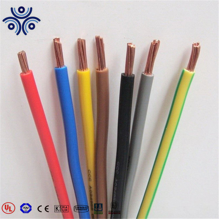 UL listed house wiring electrical cable wire THW/h07V-R building wire 12AWG 2.5MM2
