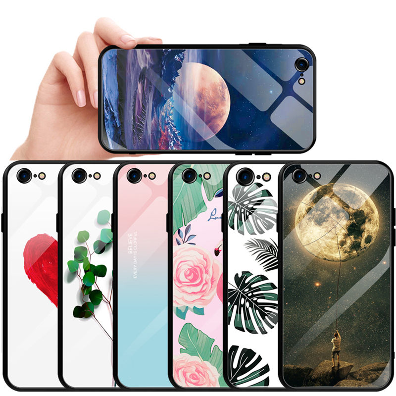 Glass luxury customs mobile phone case packaging for oneplus 7 pro phone case for iphone 11 PRO XR for samsung