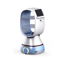 New Arrive Restaurant AI contactless multi-function super bearing capacity practical food delivery robot