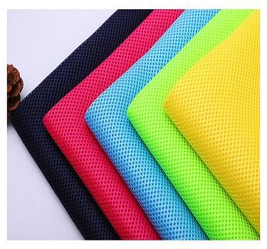 Chair Mesh Fabric Soft 3D Spacer Sandwich Polyester Air Mesh Fabric For Office Chair Car Seat Shoes