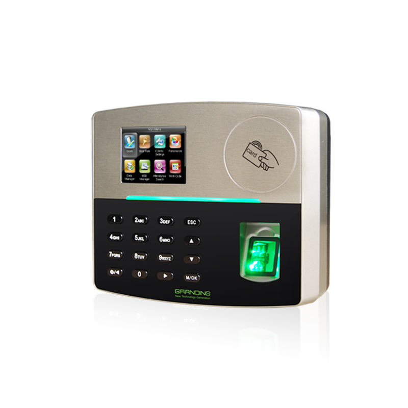 RS485, TCP/IP, USB Host Communication and 5000 Fingerprint Templates Biometric Fingerprint Time Attendance with Battery