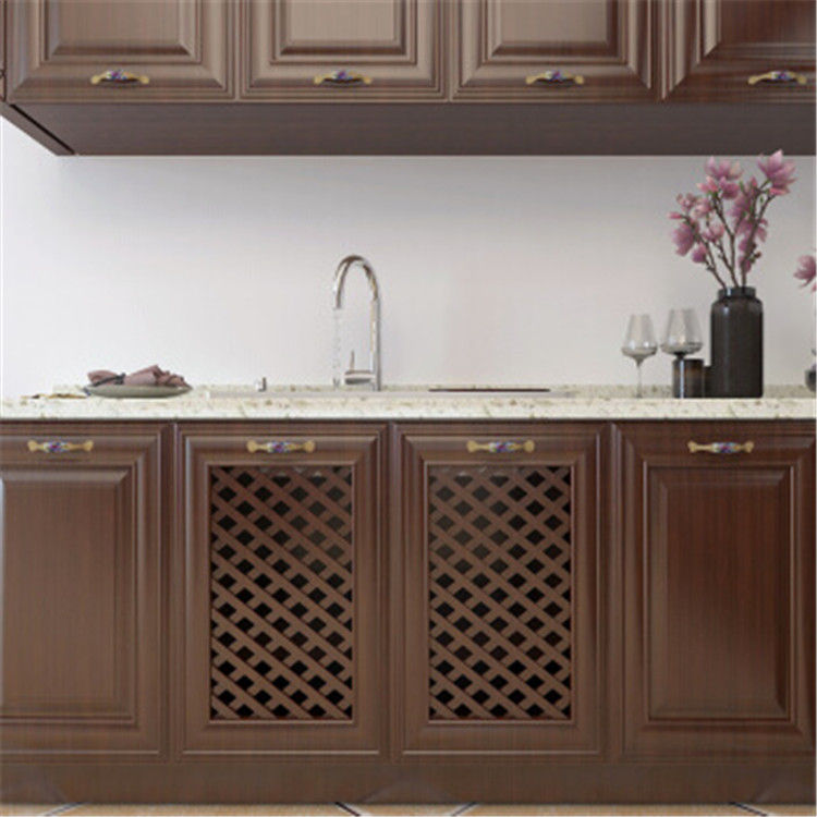 Western style white kitchen cabinet doors complete kitchen