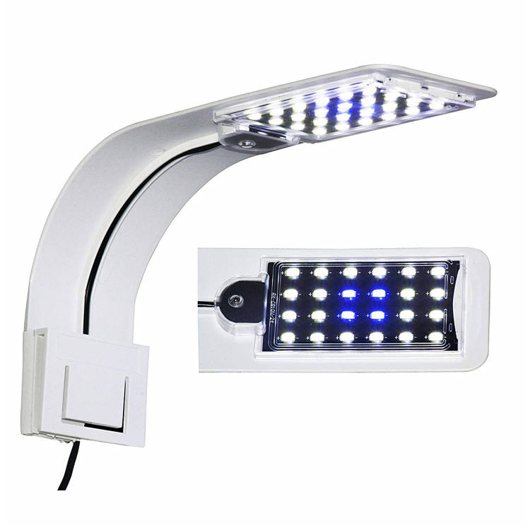 Aquarium Light Led Freshwater for Planted Fish Tank Clip-on Lamp Reef Aquarium Led Lighting
