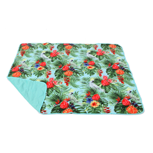 Leihua flower color hot sale easy packable picnic camping pool park beach blanket