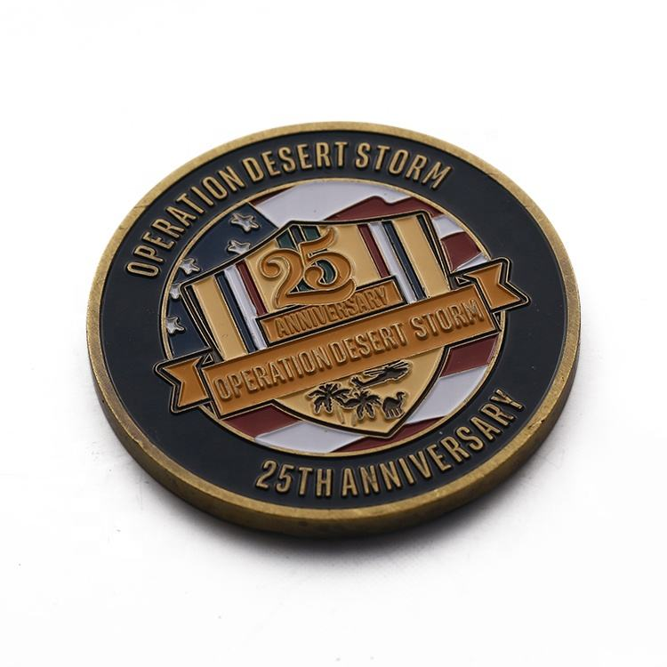No Minimum Custom Souvenir Metal Coins With Enamel, Cheap Custom Coins
